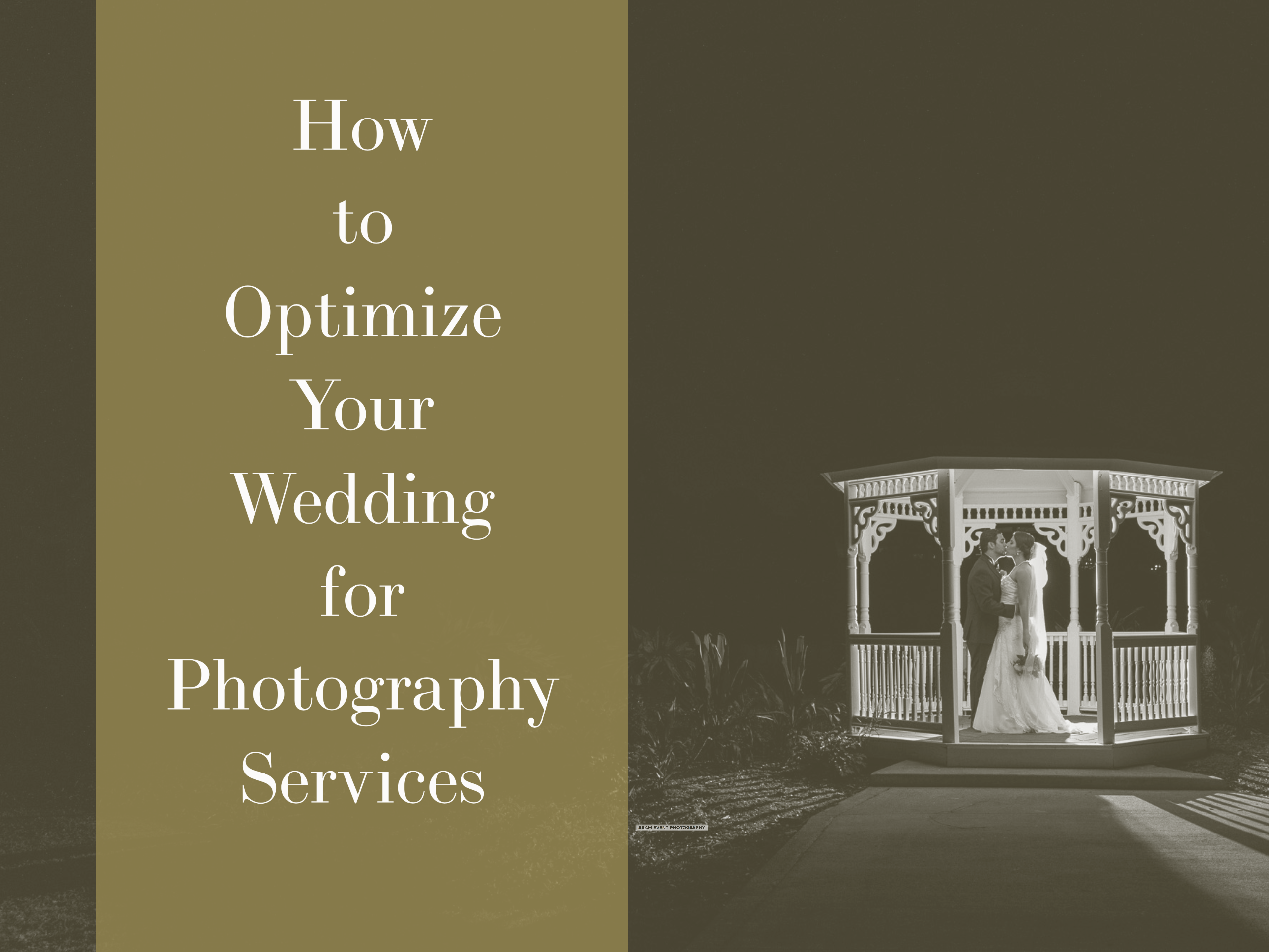 Optimize Your Wedding