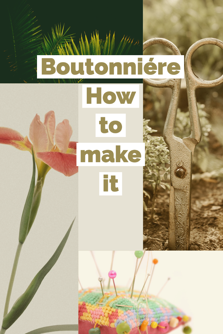 boutonniére hot to make it